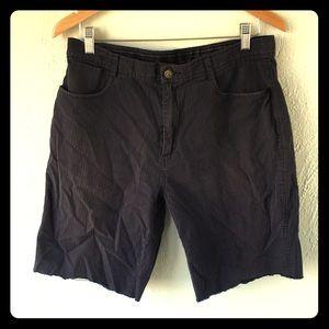 Calvin Klein Cut Off Pirate Dress shorts beachgoth